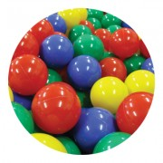 Piłki plastikowe 7cm