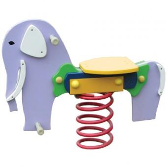 Bujak na sprężynie - słonik