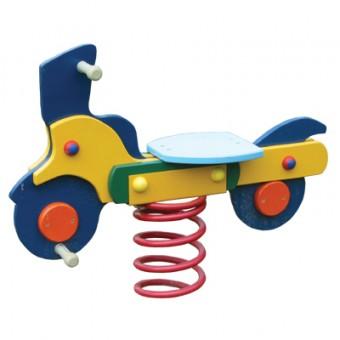 Bujak na sprężynie - skuter
