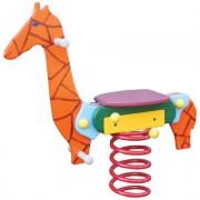 Bujak na sprężynie - żyrafa