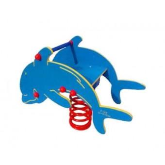 Bujak HDPE przestrzenny - delfin