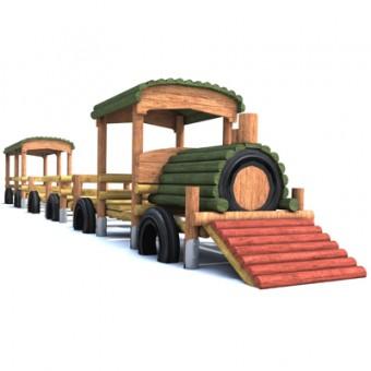 Pociąg z wagonikiem
