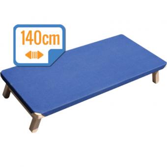 Leżak przedszkolny 140 cm