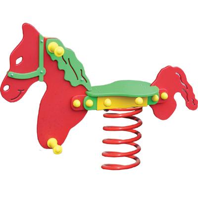 Bujak na sprężynie z tworzywa HDPE - sprężynowiec koń