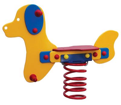 Bujak na sprężynie z tworzywa HDPE - sprężynowiec pies