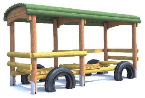 Wagonik z zadaszeniem - dodatkowy wagon